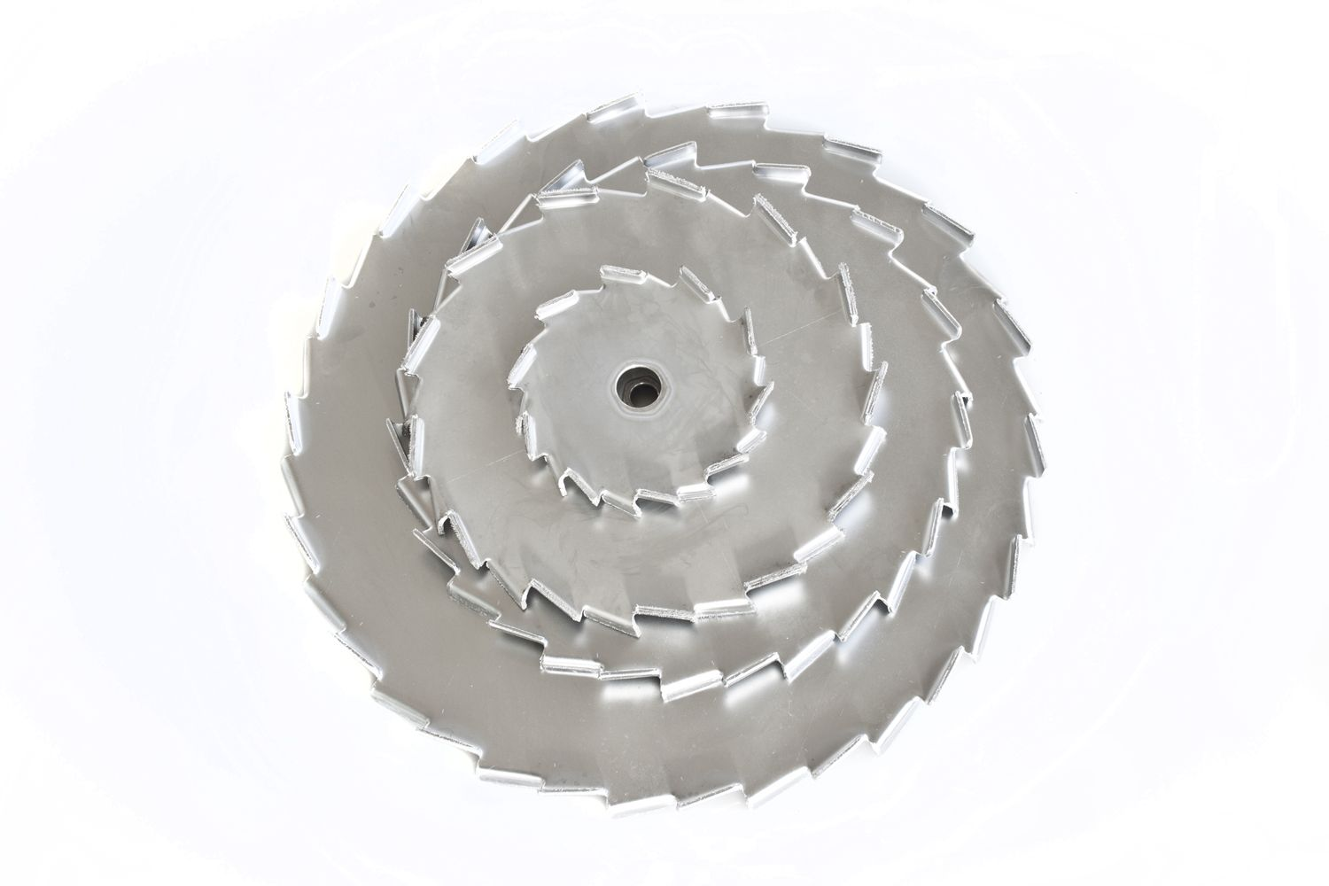 Indented impeller
